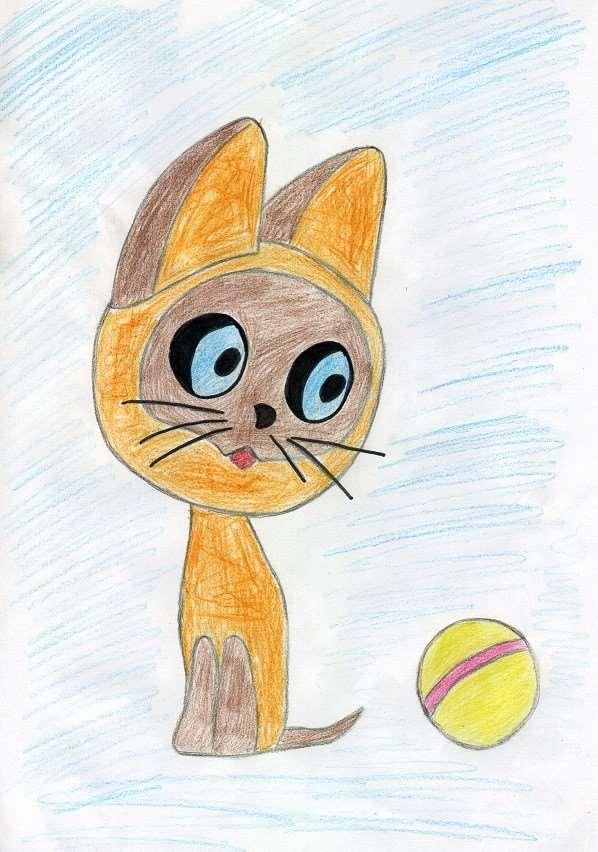 травоядна ведёт картинки котенка гав карандашом гантели встаньте прямо