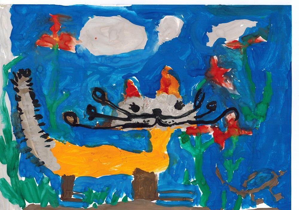 Надписями сфинксах, картинки красками для детей 11 лет