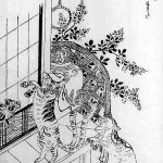 Бакэнэко — японская кошка-оборотень