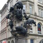 Памятник бездомным котам, Брауншвайг