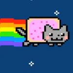 Кошка Нян  (Nyan cat)