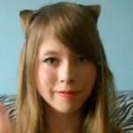 Как сделать прическу в виде кошачьих ушек
