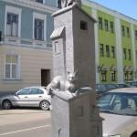 Месяц март (Памятник кошкам в Бресте)