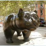 Кот Ботеро в Барселоне