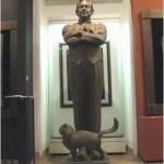 Олег Табаков и кот, Москва