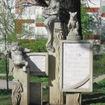 Кот ученый на памятнике в честь двухсотлетия со дня рождения А.С. Пушкина