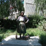 Памятник дворничихе в Липецке
