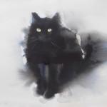 Кошки в графике Эндре Пеноваца