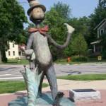 Памятник Коту в шляпе, Нейпервилл