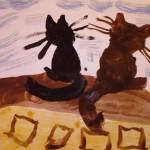 Елена Благинина, «Котёнок» и другие стихи