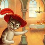 Кошки на работах Паоло Доменикони