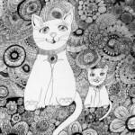 Юнна Мориц, «Малиновая кошка» и другие стихи