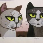 Удивительные котики Томоо Инагаки