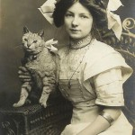 Винтажные фотографии с кошками