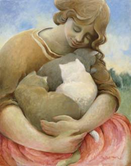 Женщины и кошки Сандры Бирман